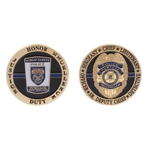 PORTAGE MICHIGAN POLICE DEPARTMENT ALL RANKS  CHALLENGE COIN - $12.63