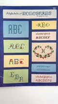Alphabets and Monograms By Harriette Tew  Book 6 Cross Stitch 1982 - $3.96