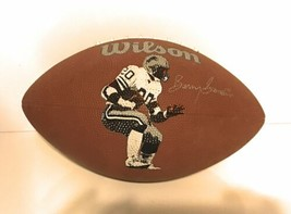 Vintage Wilson F1520 Barry Sanders Endorsed Full Size Football - Holds Air! - $36.62