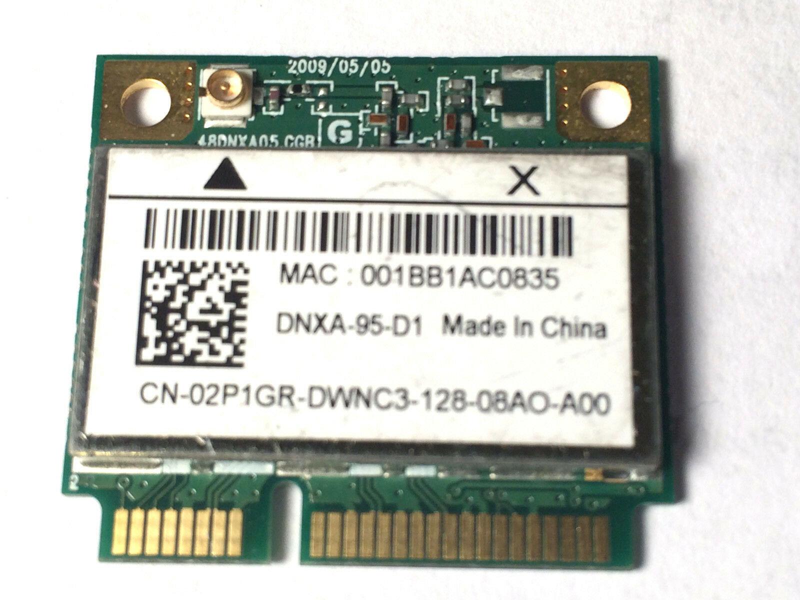 "Dell 2P1GR Inspiron 15.6"" N5030 OEM WiFi Wireless Card AR5B95 DNXA-95-D1"