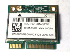 "Dell 2P1GR Inspiron 15.6"" N5030 OEM WiFi Wireless Card AR5B95 DNXA-95-D1 - $4.21"