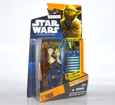 Star Wars Galactic Battle Game Yoda SL13 with Missle Firing Cannon - $21.49