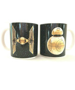 Collectible Star Wars BB8 Tie Fighter Coffee Cup Mug Lot Galerie - $35.64