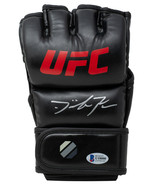 Dominick Reyes Signed Black Full Size UFC MMA Glove BAS - $108.89