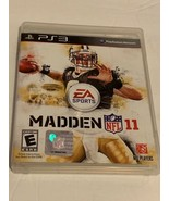 Madden NFL 11 (Sony PlayStation 3, 2010) Complete With Manual Football Game - $10.22