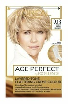 L'oreal Age Perfect - Light Ivory Blonde Permanent Colour Dye Mature Grey Hair - $17.48