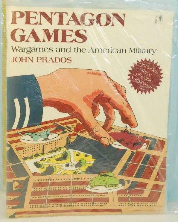 Primary image for Pentagon Games Wargames & The American Military John Prados Harper & Row 1987