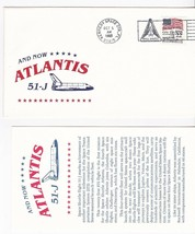 AND NOW**** ATLANTIS 51-J LAUNCH KENNEDY SPC CTR FLORIDA OCT 3 1985  - $1.98