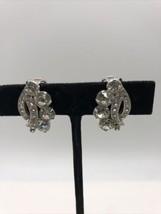 Vintage Stunning Eisenberg Ice Clip On Earrings  - $39.59