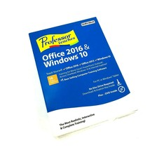 INDIVIDUAL SOFTWARE - PROFESSOR TEACHES OFFICE 2016 & WINDOWS 10  #2137 - $26.02