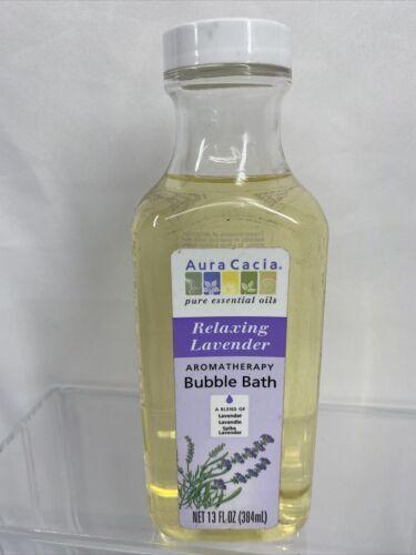 Aura Cacia Aromatherapy Bubble Bath Relaxing Lavender - 13  fl oz - $8.99
