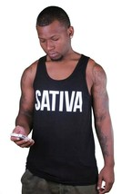 Dope Couture Black Sativa Tank image 2