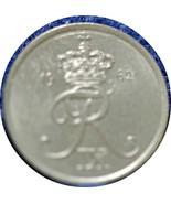 Denmark, 1962 2 Ore, Glossy Uncirculated, dark - $1.81 CAD
