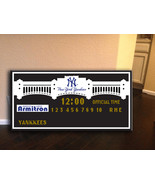 new york yankees scoreboard, Yankees score board, yankees decor - $135.00