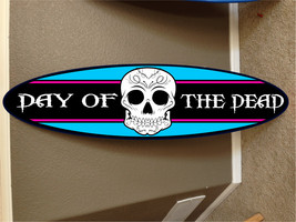 Day of the Dead wall hanging surf board surfboa... - $75.00
