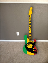 wall hanging guitar surfboard decor hawaiian be... - $59.99