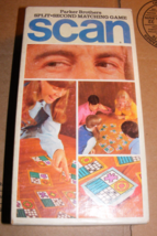 1970 Scan Matching Game by Parker Brothers - $30.00