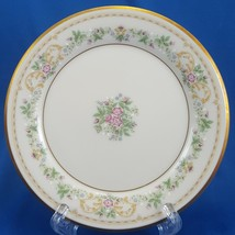 Gorham Royalston Bread and Butter Plate Cream Porcelain Roses Gold Trim ... - $11.88