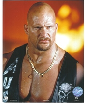 Steve Austin Chain Vintage 8X10 Color Wrestling Memorabilia Photo - $4.99