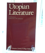 Utopian Literature, Modern Library Edited isbn 0075536676 Free Freight, ... - $9.75