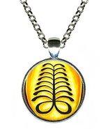 Adinkra AYA for Endurance & Resourcefulness Silver Pendant - $14.95
