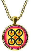 Adinkra Me Ware Wo of Marriage for Commitment & Perseverance Gold Pendant - $14.95