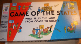 1956 Game of the States No. 4920 Milton Bradley RARE - $45.00