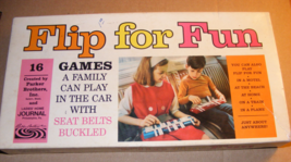 1966 Flip for Fun by Parker Brothers - $32.00