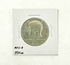 1973-D Kennedy Half Dollar (F) Fine N2-3634-4 - $0.89