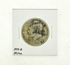 1973-D Kennedy Half Dollar (F) Fine N2-3634-6 - $0.89