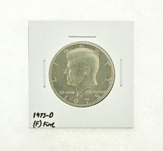 1973-D Kennedy Half Dollar (F) Fine N2-3634-7 - $0.89