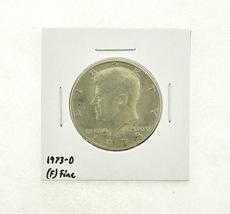 1973-D Kennedy Half Dollar (F) Fine N2-3634-8 - $0.89