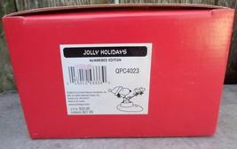 2000 SNOOPY / PEANUTS HALLMARK FIGURINE JOLLY HOLIDAYS - $20.00