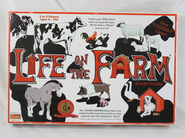 LIFE ON THE FARM 1996 BOARD GAME AWARD WINNING NEAR MINT CONDITION - $30.74