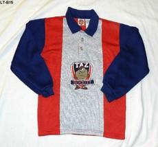 Looney Tunes TAZ Collared Sweatshirt Sz Boys 7 - $9.99