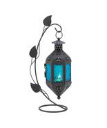 freestanding lantern  candle Lamp SAPPHIRE BLOOM - $7.99