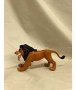Action Figure Lion King Scar Fighting Loose Disney 1993 - $11.00