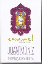 Art Exhibit by JUAN MUNIZ at CARAMEL Bar/Lounge Bellagio Las Vegas Promo... - $1.95