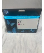 GENUINE HP 72 Magenta Ink C9372A, Warranty Expiration Date MAY 2014 - $27.72