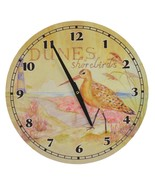 Hanging Wall Clock Dunes & Shorebirds Beach Lake Home Decor Birds Lighth... - $24.99