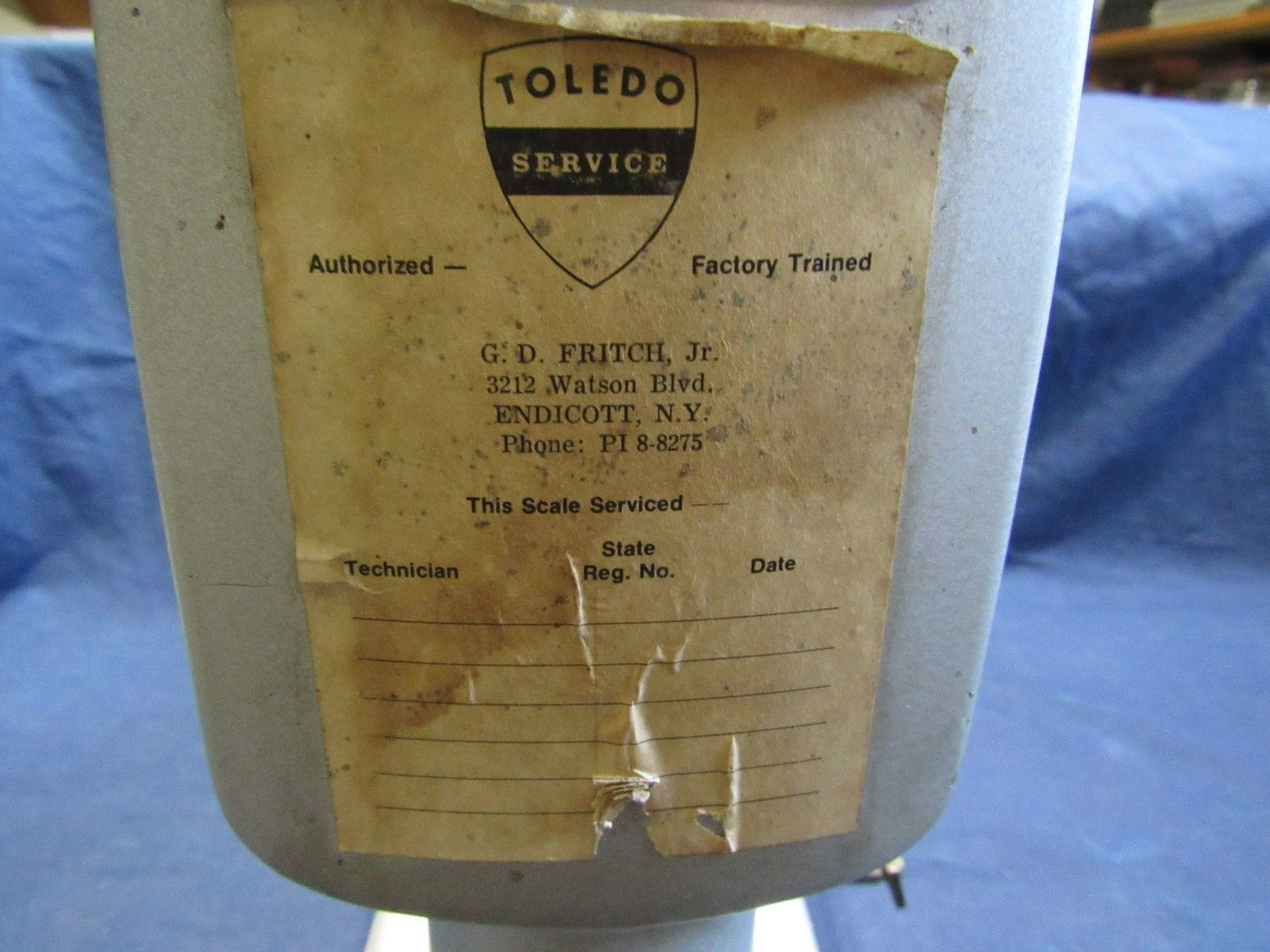VTG Toledo Speedweigh 5 Pound Scale Model and 50 similar items