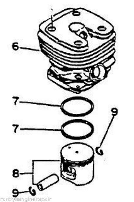 Piston Cylinder Kit Echo Cs 8000 Qv 8000 And 50 Similar Items