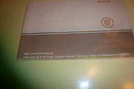 1980 Buick Owner's Manual Vintage - Glove Box - $6.89