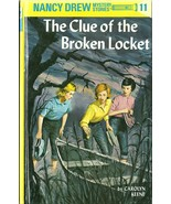 Nancy Drew 11 The Clue Of The Broken Locket Car... - $4.99