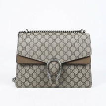 Gucci Medium Dionysus GG Supreme Monogram Shoulder Bag - $2,505.00