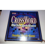 Cross Word The New York Times Sunday Puzzle Game by Herbko Brand New - $18.65
