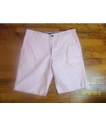 Men's Merona Pink Flat Front Cotton Shorts Sz. 34 - $19.99
