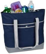 OAGear Navy Blue Large 24 Can Insulated Cooler Tote (Water/Weather Resis... - $32.62