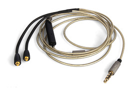 Upgrade Silver Audio Cable For JVC FX850 With remote microphone - $24.30
