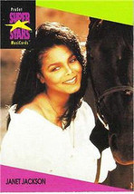 JANET JACKSON 1991 PRO SET MUSIC CARDS # 59 - $1.24